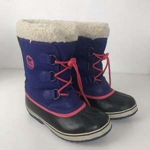 Sorel Yoot Pac Winter Snow Boots Size 4Y